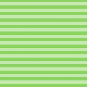 Stripe- Green on green