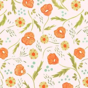 Poppies Etc - Off White
