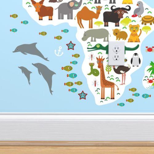 Fat Quarter Make a Splash Dolphin Stickers