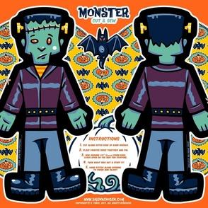 Halloween Hoopla - Monster - Cut & Sew