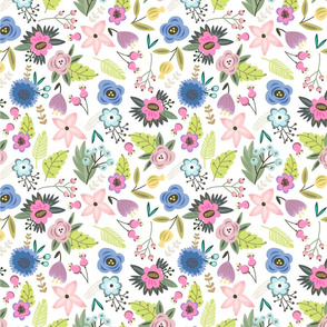 Spring_pattern_flowers_spoon