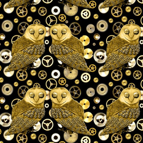 Robo Owls and Gears