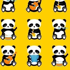 a band o' pandas - large