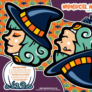 Halloween Hoopla - Witch - Cut & Sew