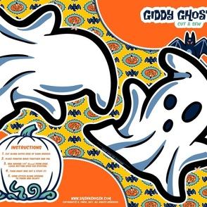 Halloween Hoopla - Ghost - Cut & Sew