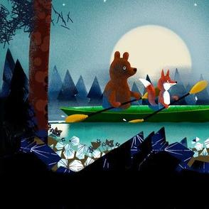 Bear and Fox big