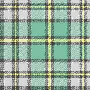 "Cape Breton tartan, 6"" faded colors"