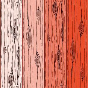 Wooden Slats (Tomato)