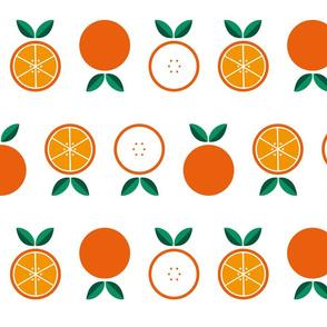 Oranges fruit salad clementines citrus