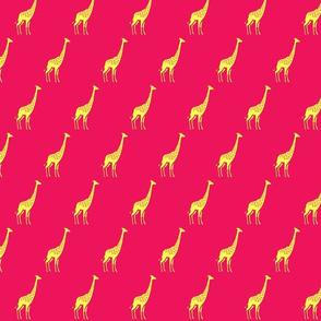 Giraffe_Fushia