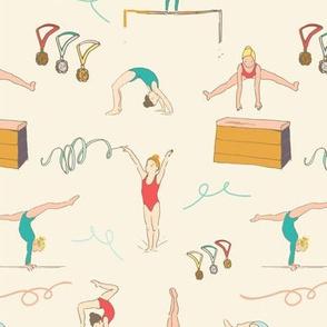 Gymnastics Girls