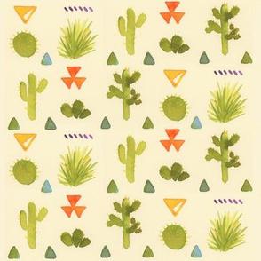 Cactus in Watercolor