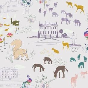 Parkland of Chatsworth House