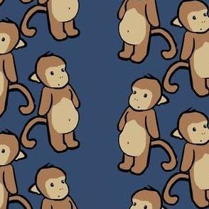 Plain-Belly Monkeys