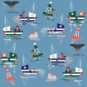 Maritime Merriment ©2017 Jill Bull