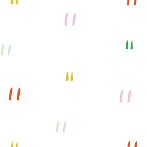 Geometric dash lines colour burst fiesta