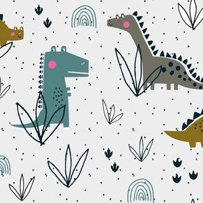 Dinosaur boys t-rex gender neutral prehistoric fossil