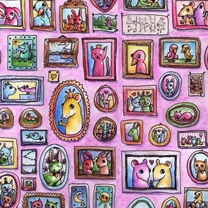 TossaNiska - Animals's picture wall