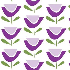 flower power purple