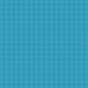 Tiny Blue Checkerboard