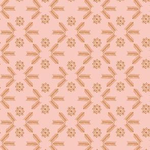 Sheba grid (blush)