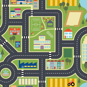 Town & Country Play Mat