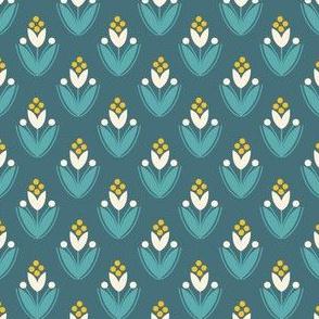 flora - blue