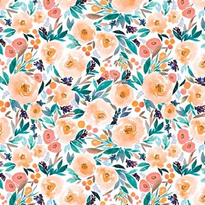 Indy bloom Design Orange Berry Blossom B