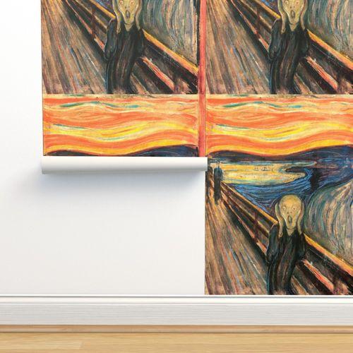 Wallpaper Munch The Scream 1893 36 In