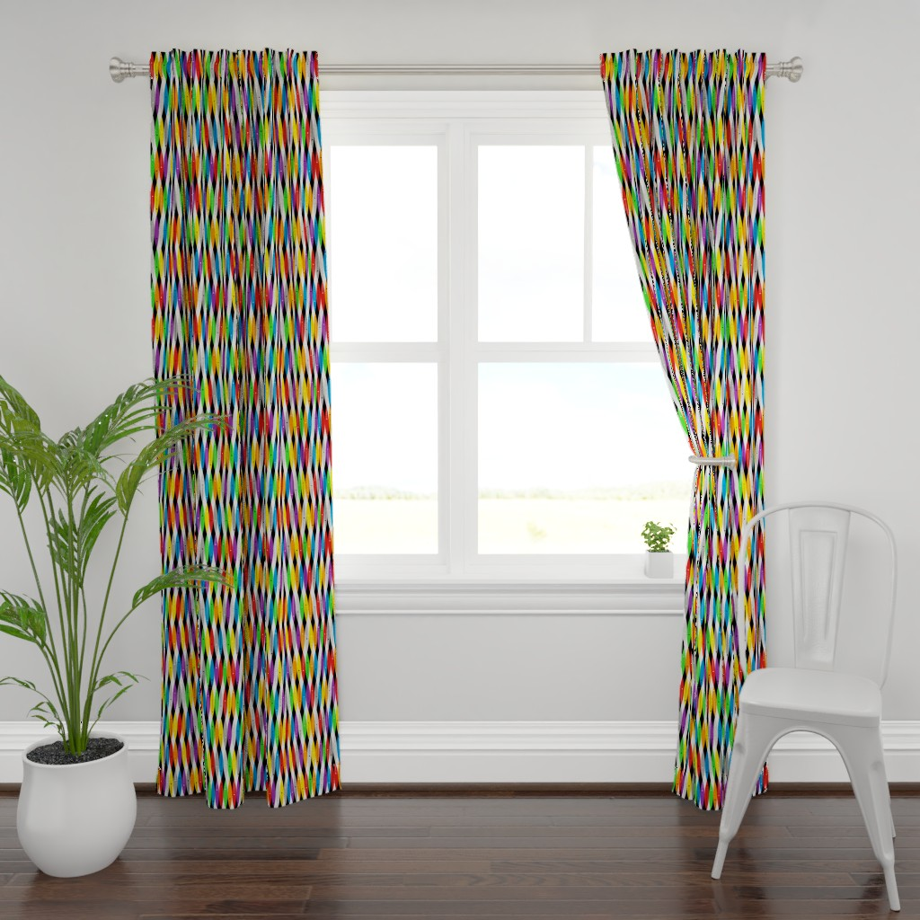 Plymouth Curtain Panel featuring Mod Pod #4 by tonyanewton