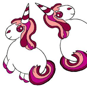pink unicorn - small plushie