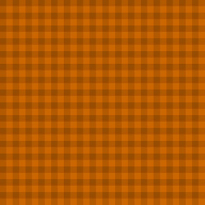 squash and nutmeg gingham