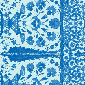 bosporus_tiles blueblue-Twill