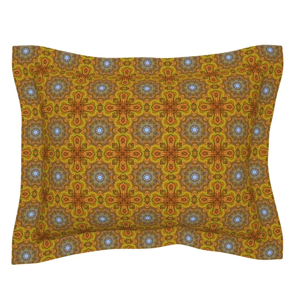Sebright Pillow Sham featuring Changing Seasons 6 by beth_ann_williams
