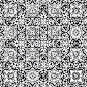 Monochrome Kaleidoscope - 4
