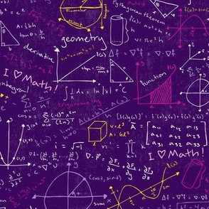 Math Lessons (Purple)