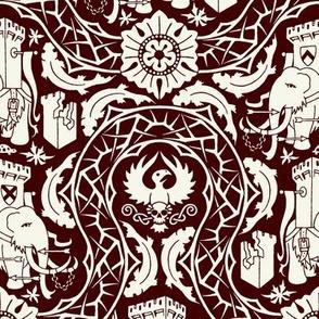 Battle Mammoths (Red)