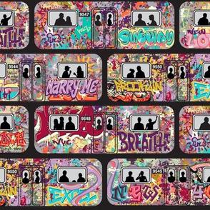 NYC Graffiti Subway
