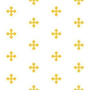 Greek Cross in Gold