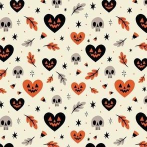 I Heart Halloween (White)