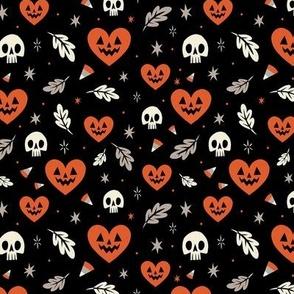 I Heart Halloween (Black)