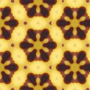 Banana Chips Yellow Upholstery Fabric