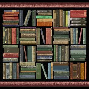 Bibliophile Blanket Cheater Quilt