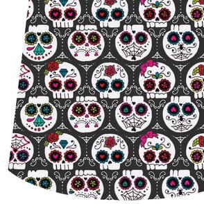 sugar skull market bag