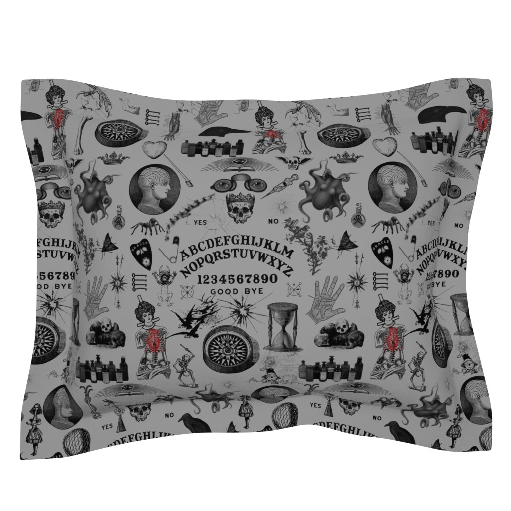 Sebright Pillow Sham featuring Apothecary by mandamacabre