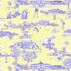 Hamptons Historical golf courses-Toile_butter_and_Denim
