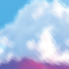 Painted Clouds, L