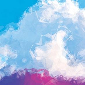 Crumpled Clouds, L