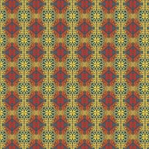 Cross Tile Teal Tiny