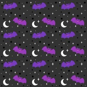 Halloween Cutie Bats - Charcoal